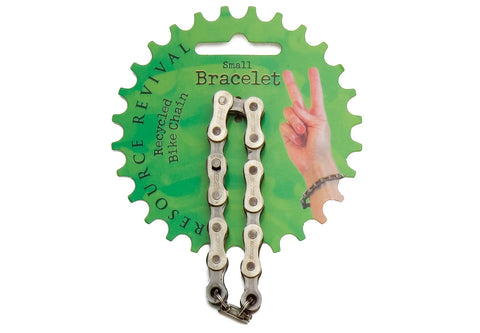 Bike chain bracelet made from recycled bike chain