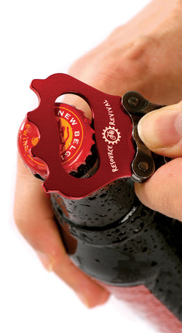Resource Revival Recycled Bike Chain Bottle Opener