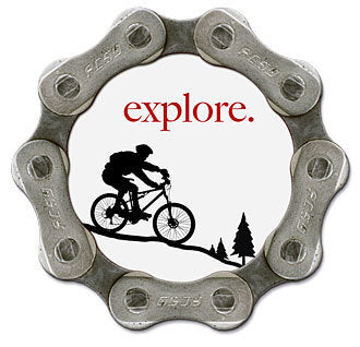 Resource Revival Eco friendly bike chain magnet