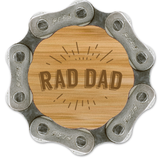 Resource Revival Rad Dad Magnet