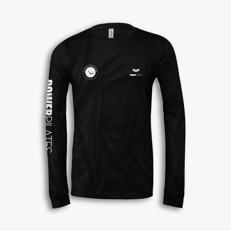 Power Pilates Official Trainer T-Shirts - Long Sleeve