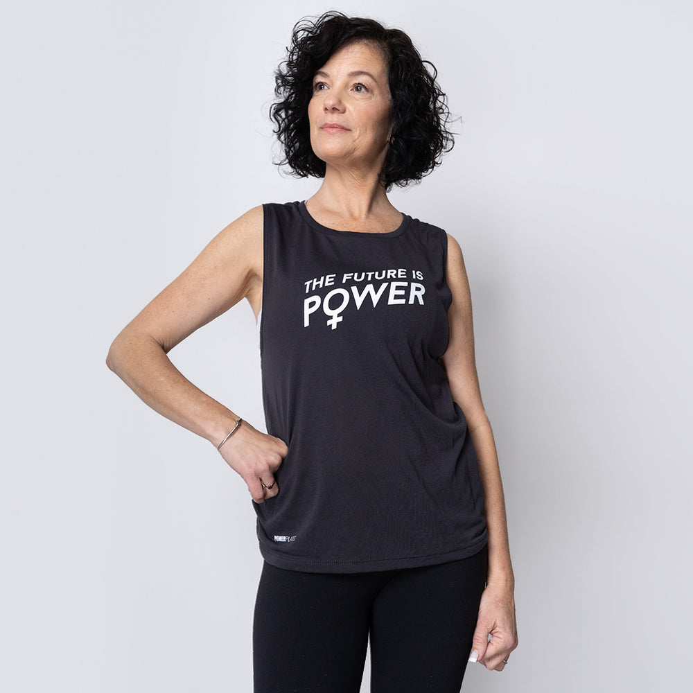 The Future is Power Muscle Tank
