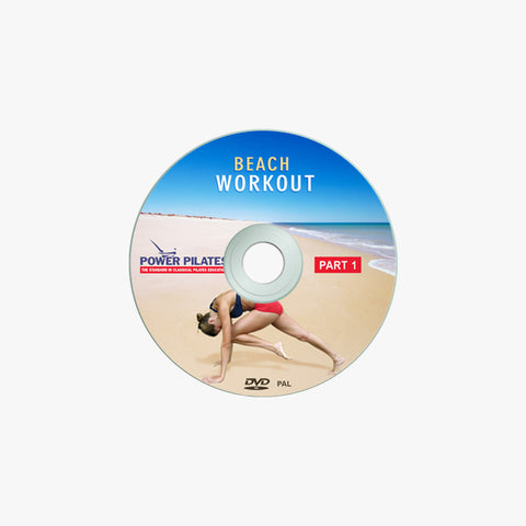 POWER PILATES BEACH WORKOUT  DVD