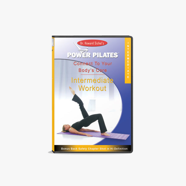 POWER PILATES INTERMEDIATE WORKOUT DVD