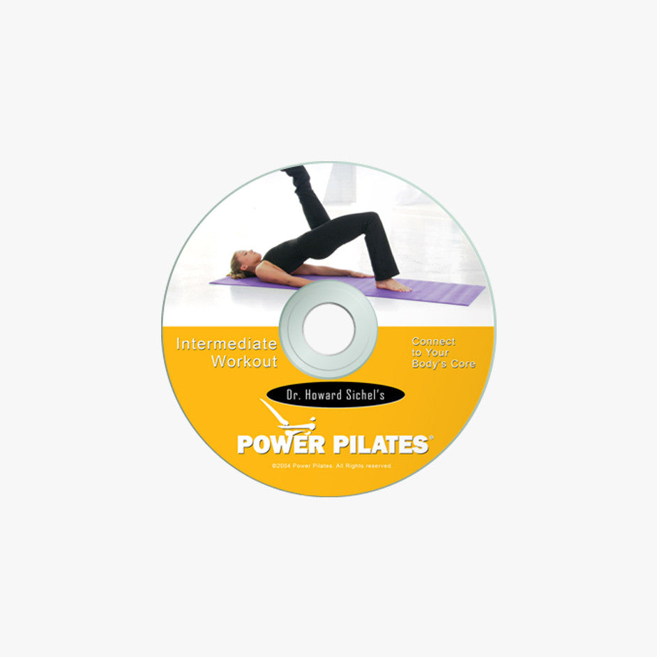 Load image into Gallery viewer, POWER PILATES INTERMEDIATE WORKOUT DVD