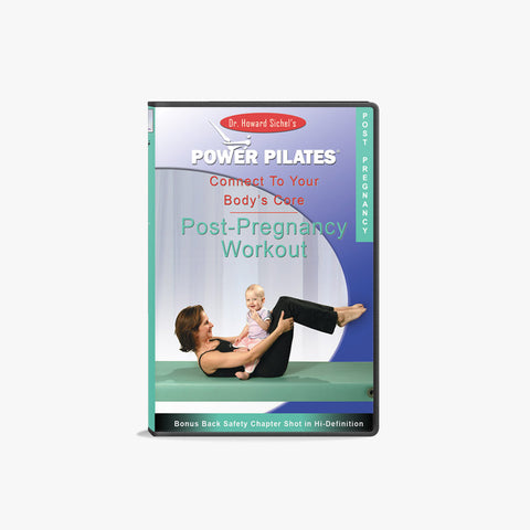 POWER PILATES POST-NATAL DVD