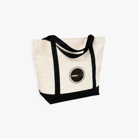 Power Pilates Logo Tote Bag