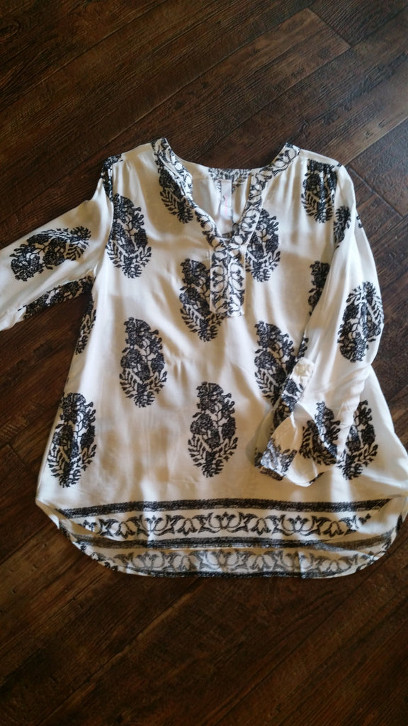 Leaves tunic