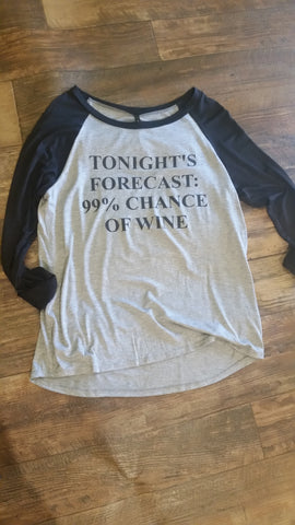 Tonight's forecast tee