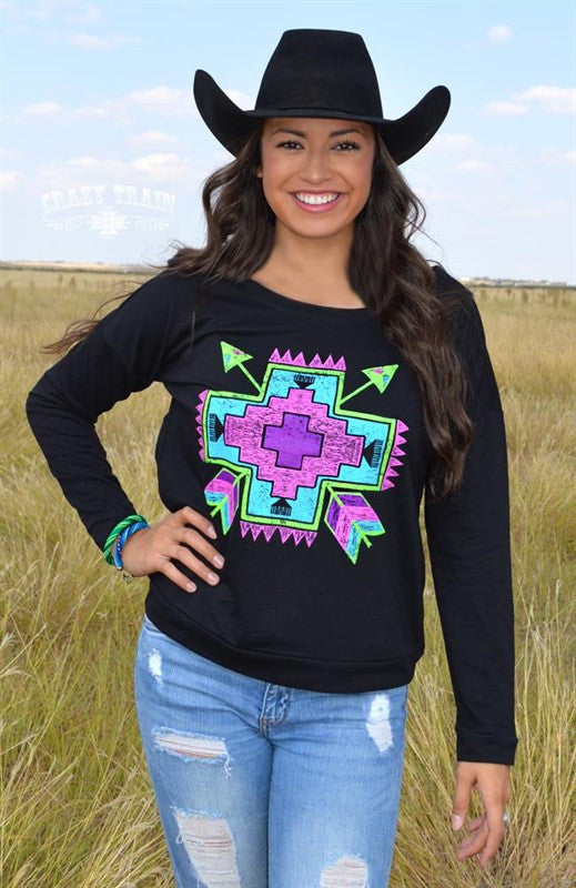 Twisted Tribal Sweatshirt