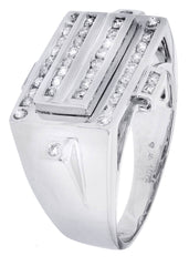 Mens Diamond Ring| 0.57 Carats| 11.26 Grams