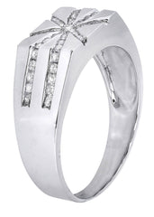 Mens Diamond Ring| 0.42 Carats| 6.67 Grams