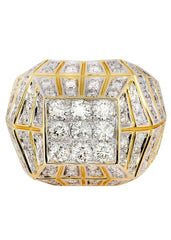 Mens Diamond Pinky Ring| 3.6 Carats| 16.42 Grams