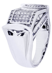 Mens Diamond Ring| 1.45 Carats| 13.67 Grams