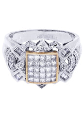 Mens Diamond Ring| 0.42 Carats| 10.2 Grams