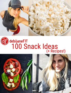 100 Snack Ideas List