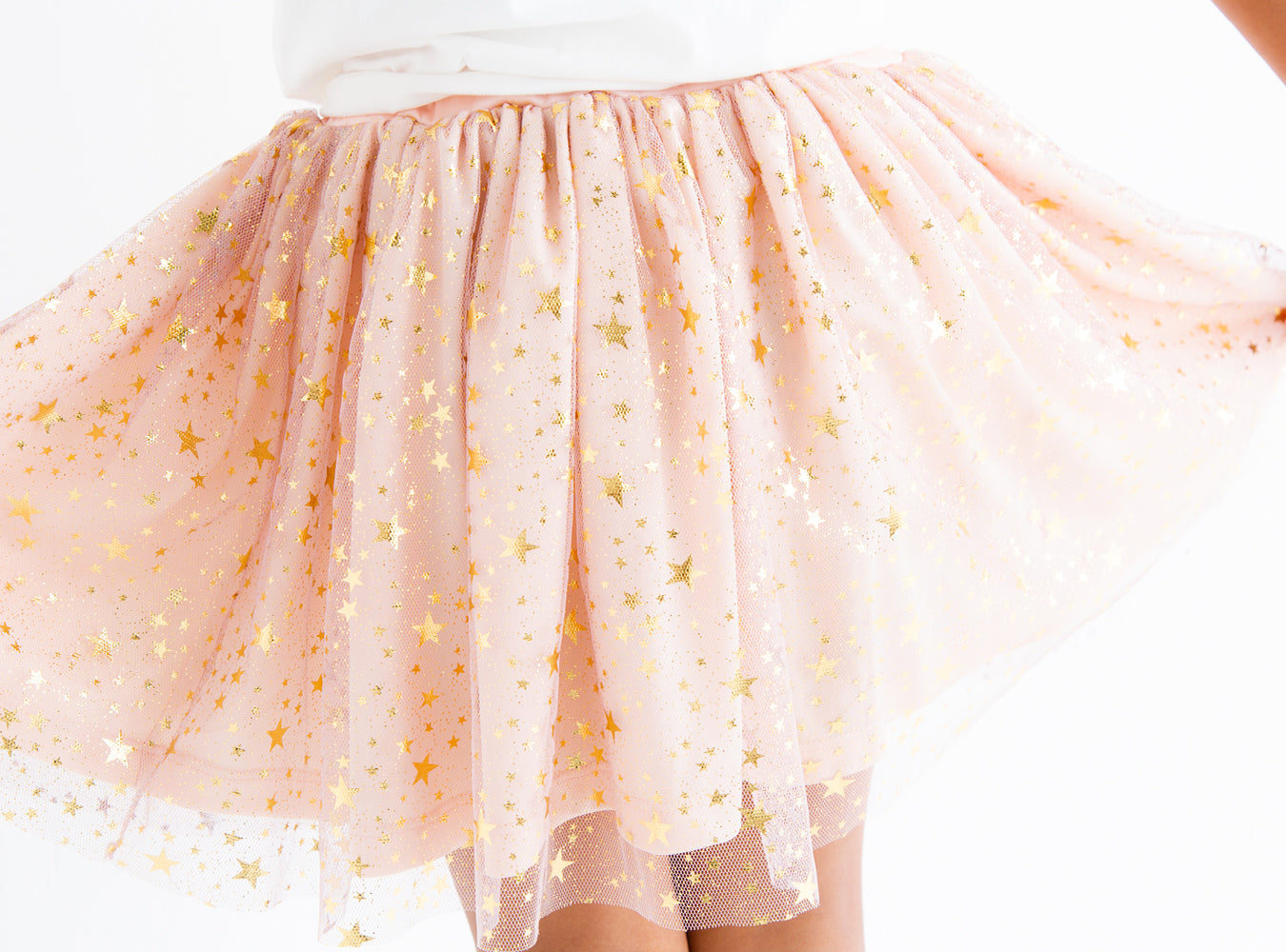 Shiny TuTu (Pink/White)