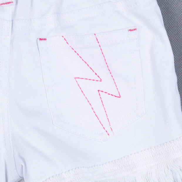 Short Pants (White/Black)