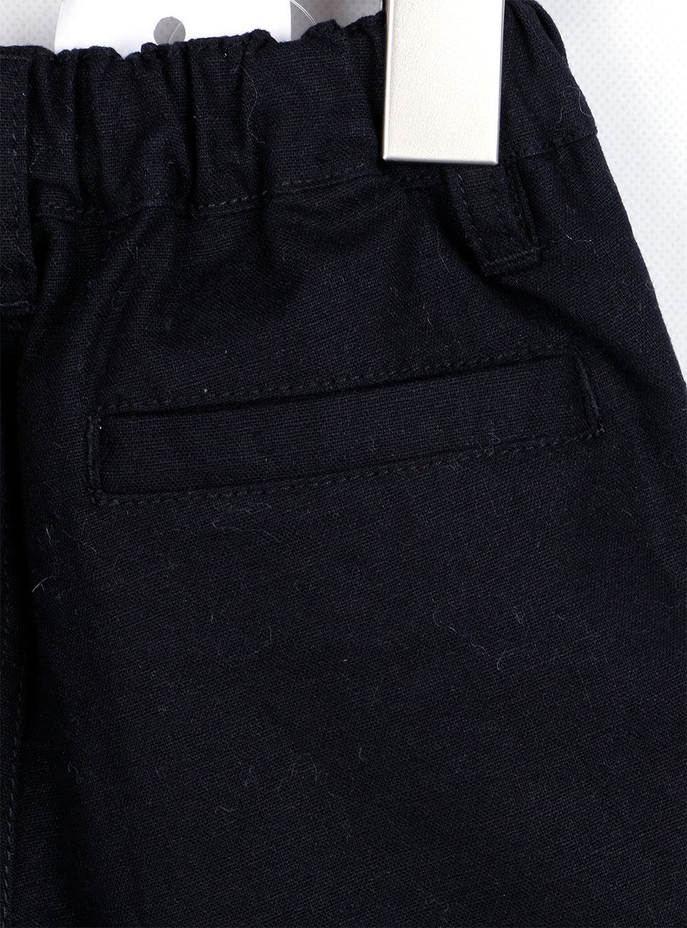 Linen Roll-up Pants (Yellow/Black)