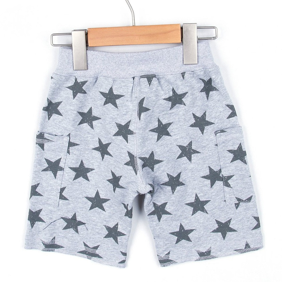 STAR HALF PANTS (Black or Grey) SS20