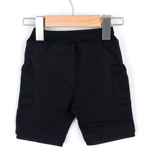 SIDE POCKET HALF PANTS (Grey/Black) SS20