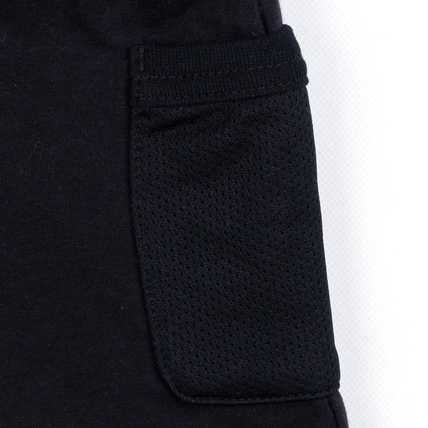 Side Pocket Half Pants (Gray/Black)
