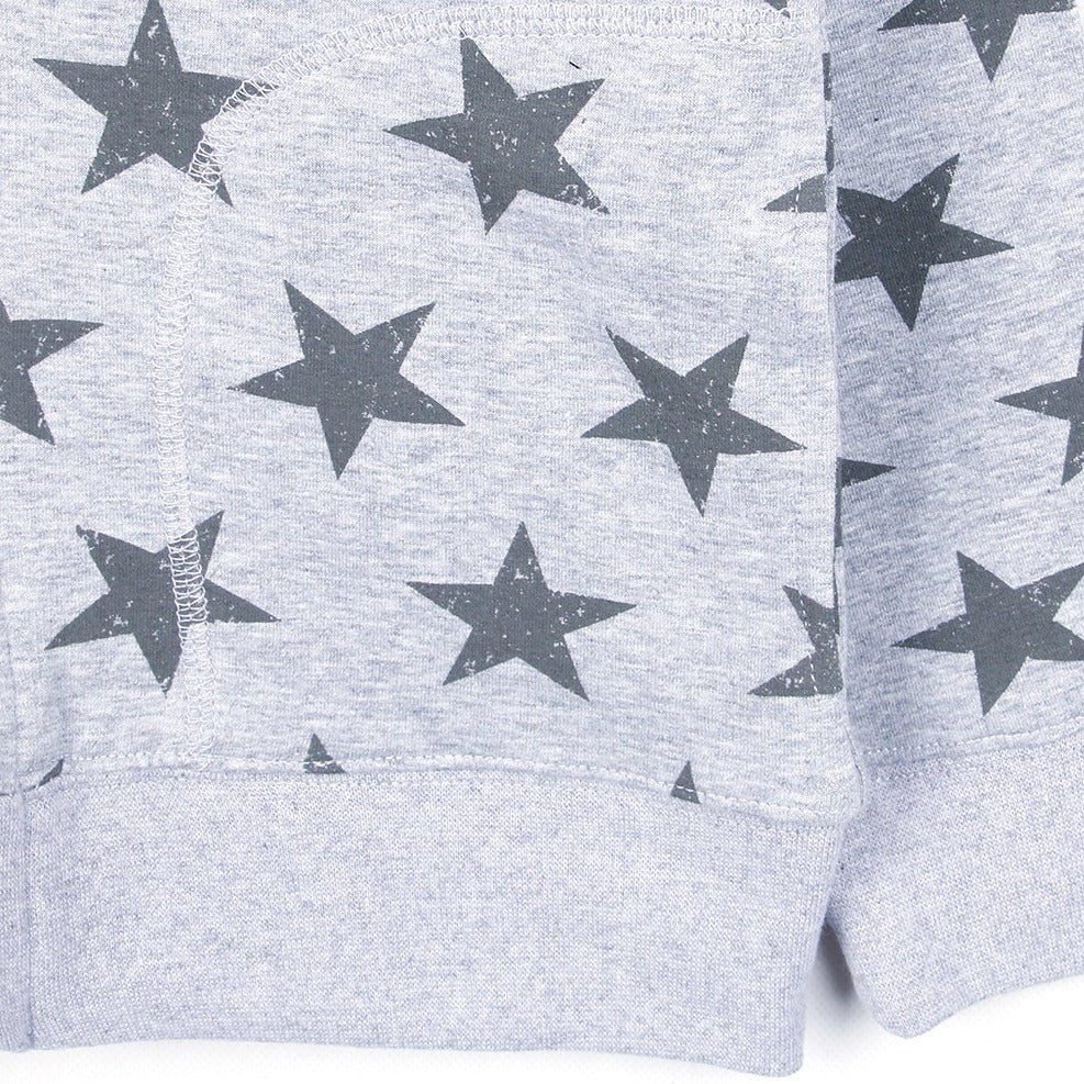 Star Hooded (Black/Gray)