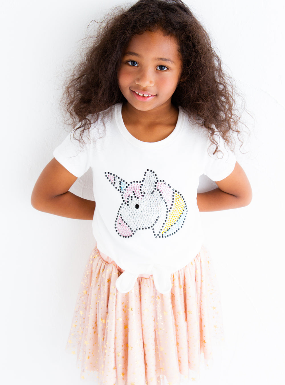 Unicorn hem draw T-SHIRTS JA07060_SS20