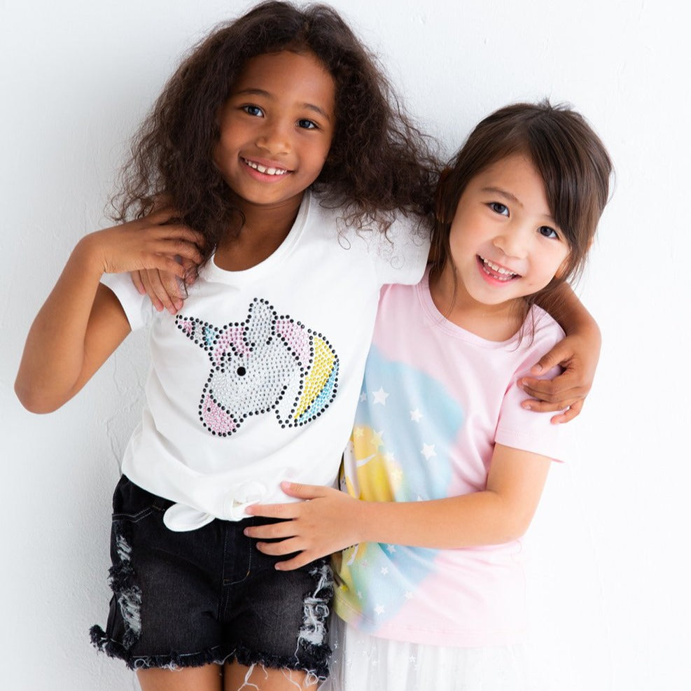 Unicorn hem draw T-SHIRTS (2 colors) SS20