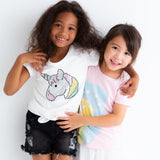 CHILL OUT LAYERED TEE - GRAY - T-shirts - Bit'z Kids - 2