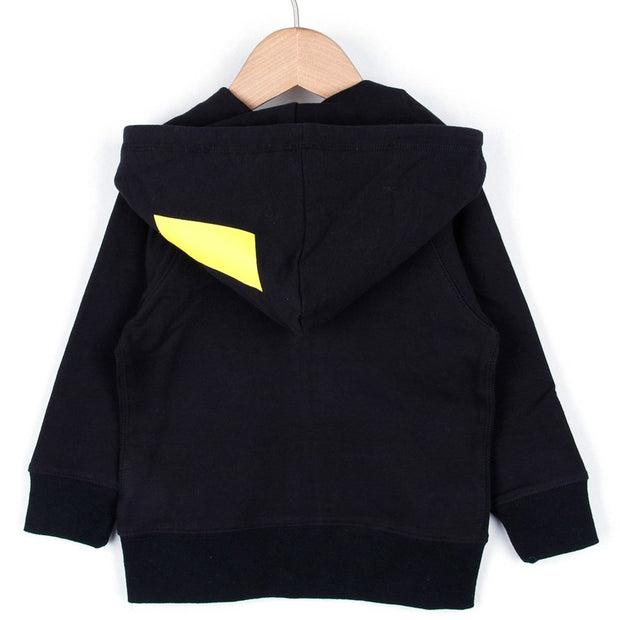 Thunder Hooded (Black/Red)