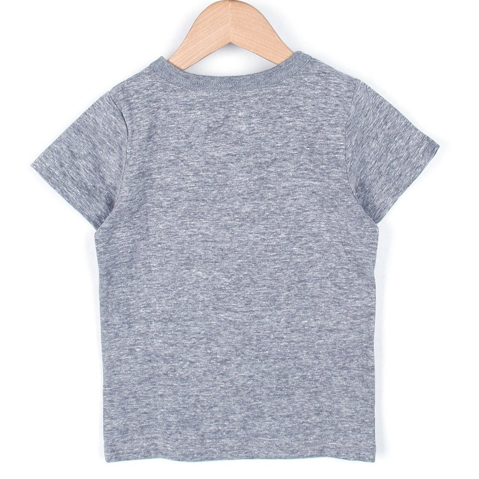 WHALE TAIL T-SHIRT (Grey/White) SS20