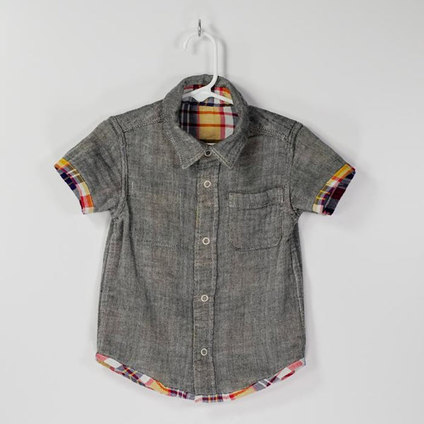 Reversible Plaid Gauze Shirts
