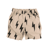 Baby Boys' Cotton Typewriter Cloth Shorts BEIGE 18ss - Bit'z Kids