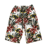 Botanical Printed Shorts (Jr.) - LIGHT CREAM 18ss - Bit'z Kids
