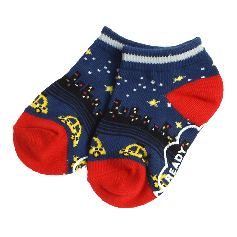 CITY JACQUARD SHORT SOCKS - Socks - Bit'z Kids - 1