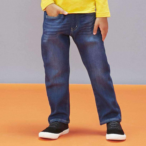 micro fleece bonding pants blue