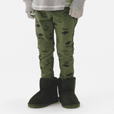 Graphic Pattern Pants - Racing Car - Bit'z Kids