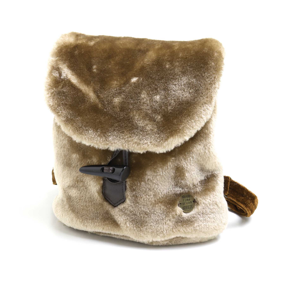 Fake Fur Backpack