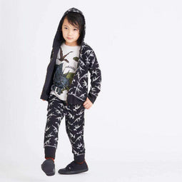 Dino Printed Zip Up Foodie - Bit'z Kids