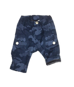 Baby's Stripe Lined Cargo Pants  - NAVY BLUE - Bit'z Kids