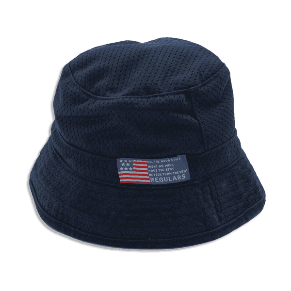 Patriotic American Reversible Hat - Navy Blue