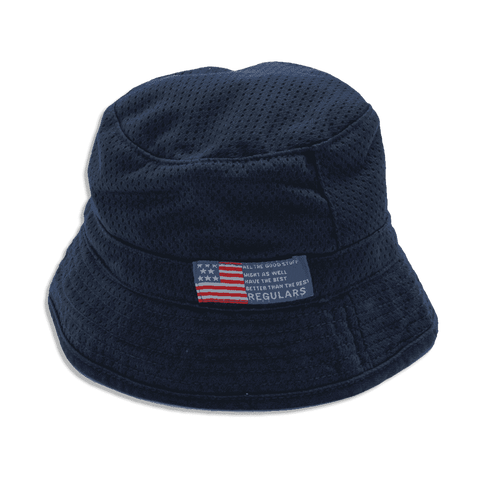Reversible Hat - Navy Blue