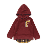 Layers Fleece Hoodie