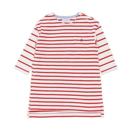 Striped Dress - RED sp18