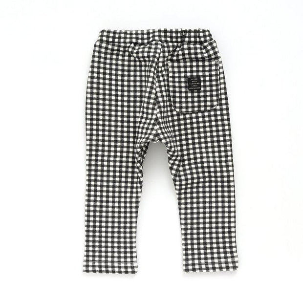 Plaid Shaggy Back Every Day Pants