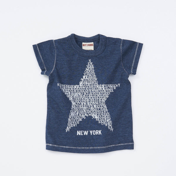 Baby Boys' New York Tee - NAVY BLUE 18ss - Bit'z Kids