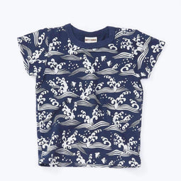 Japan Tee - NAVY BLUE 18ss - Bit'z Kids