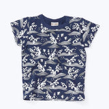 japan tee navy blue 18ss navy blue