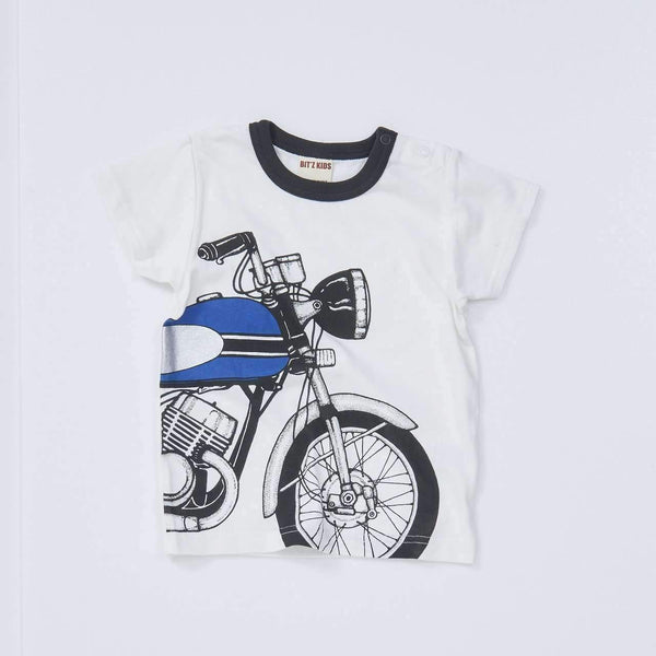 motorbike tee off white 18ss off white